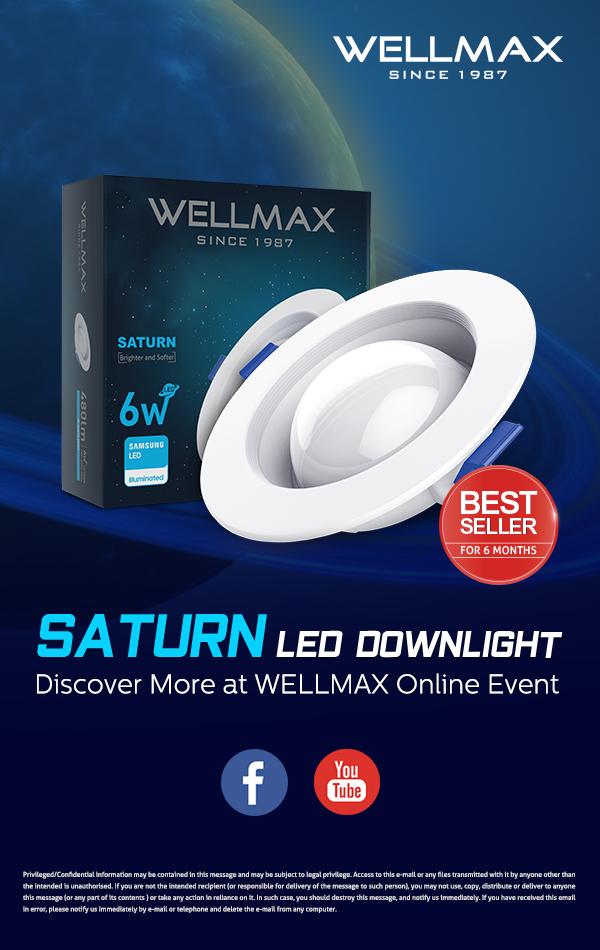 saturn led downlight